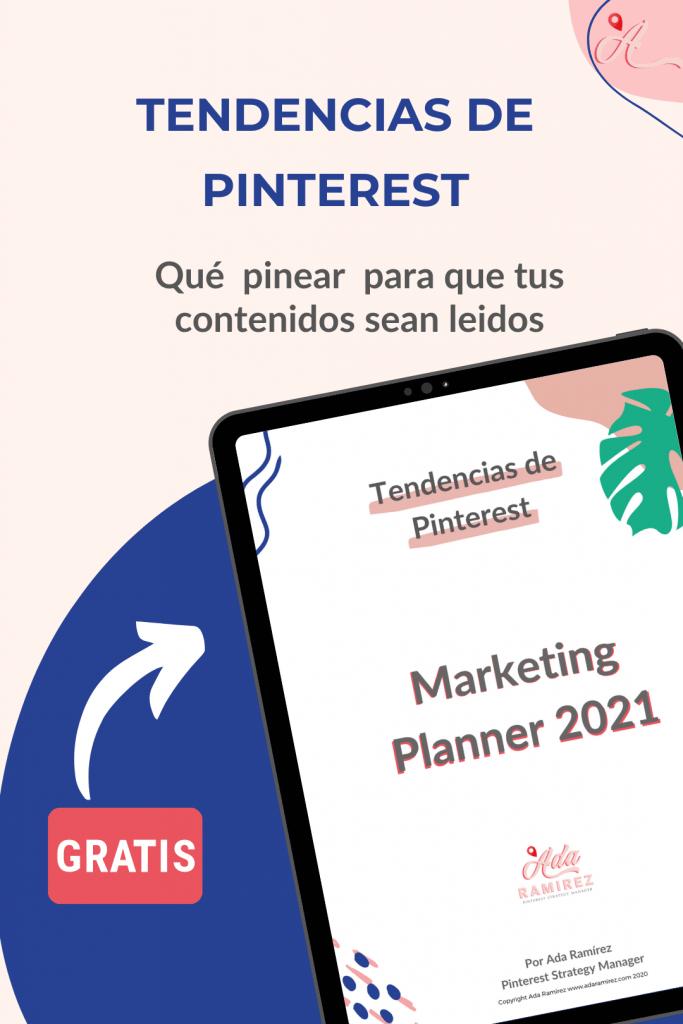 Pinterest planner