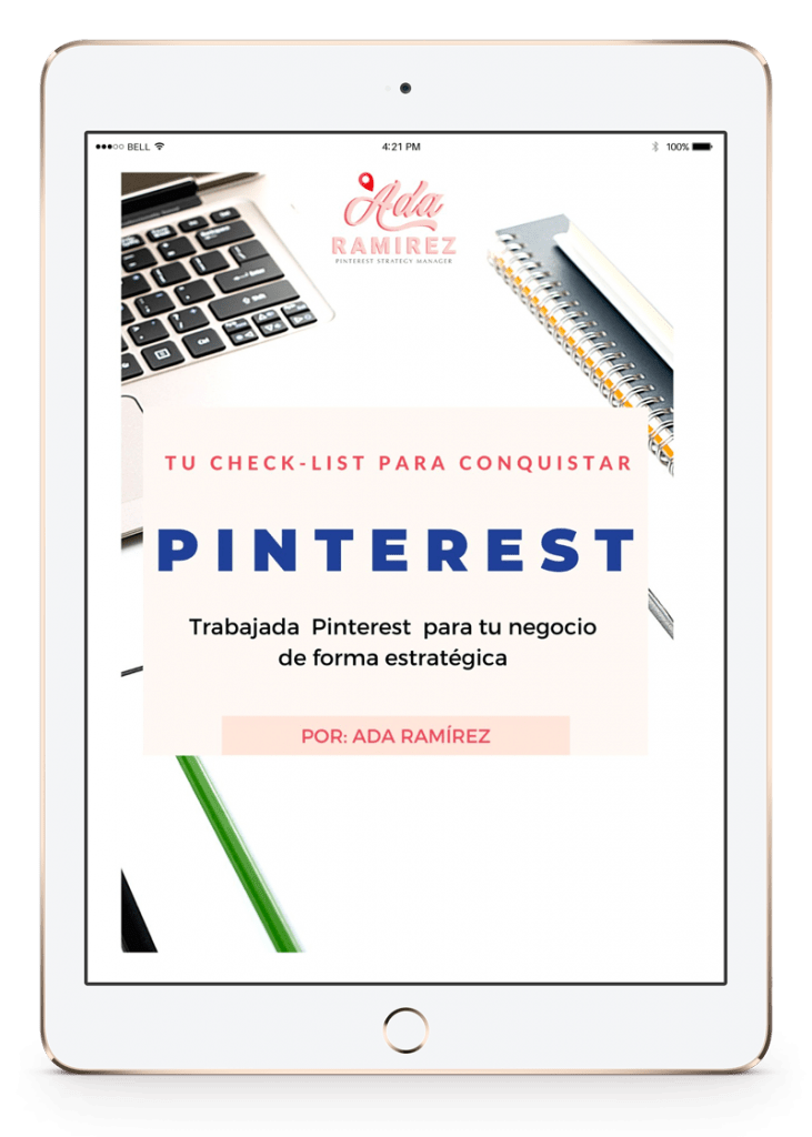 check list pinterest para negocios