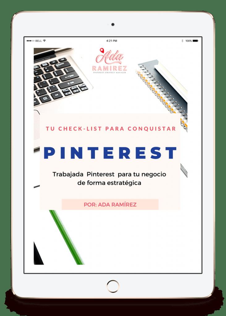 check list pinterest para negocios