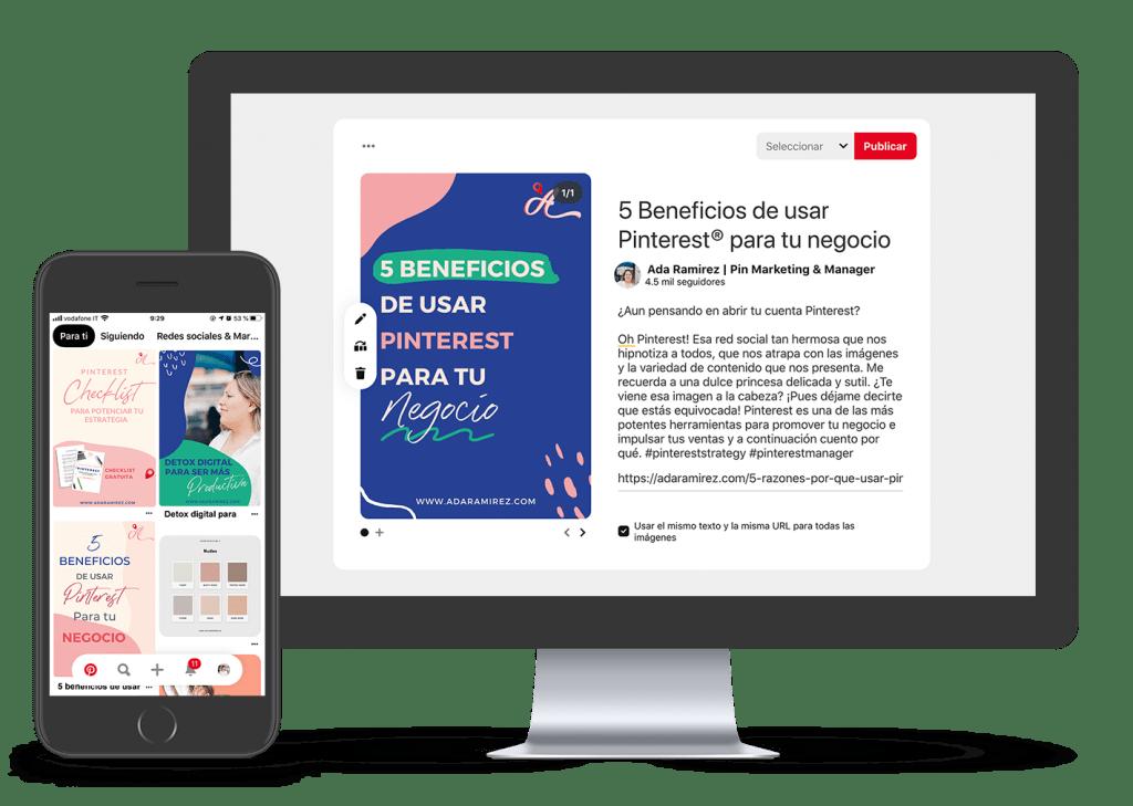 Mentoría Estratégica para Pinterest