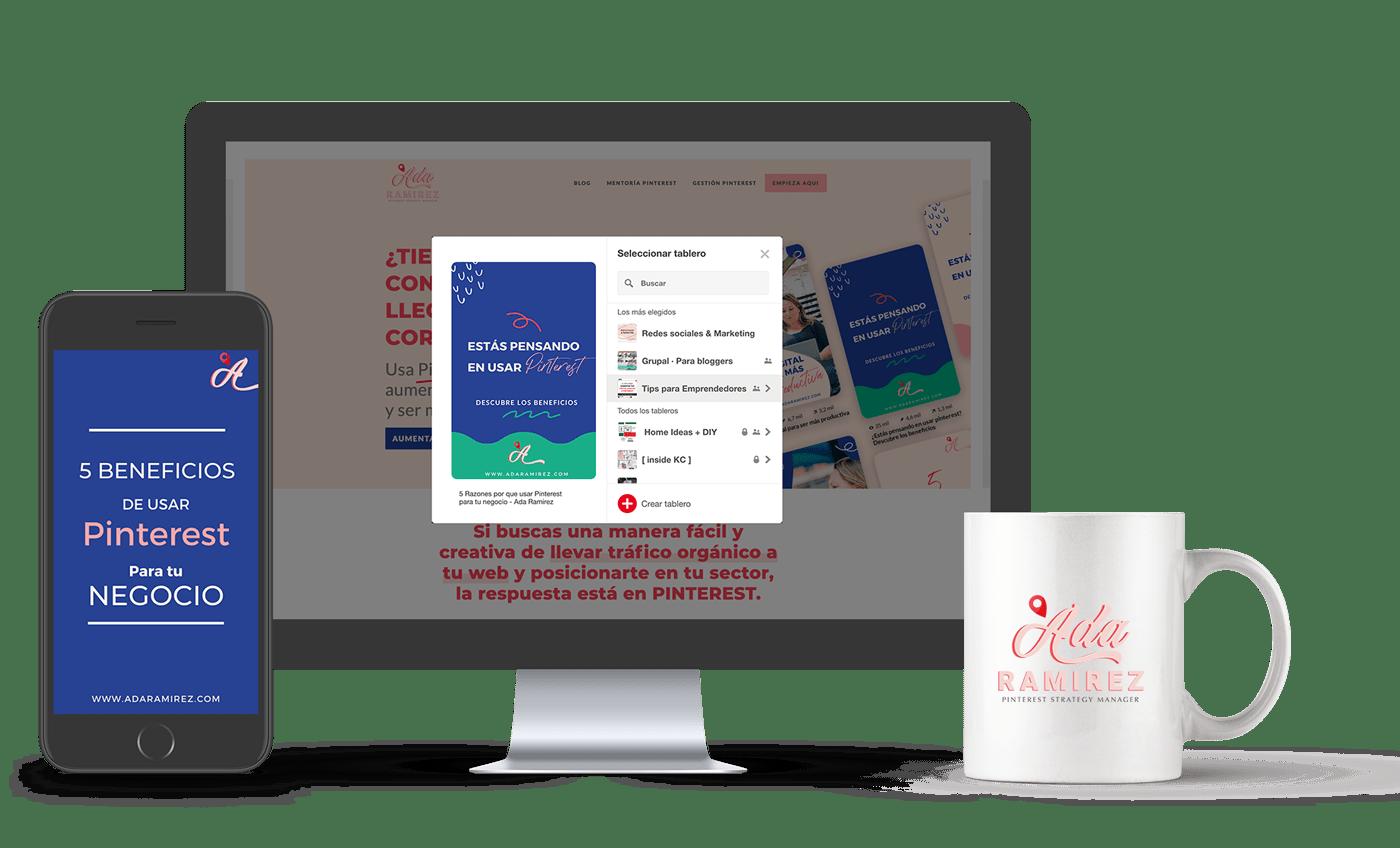 Pinterest marketing para aumentar tu tráfico orgánico. Mentoría Estratégica para Pinterest