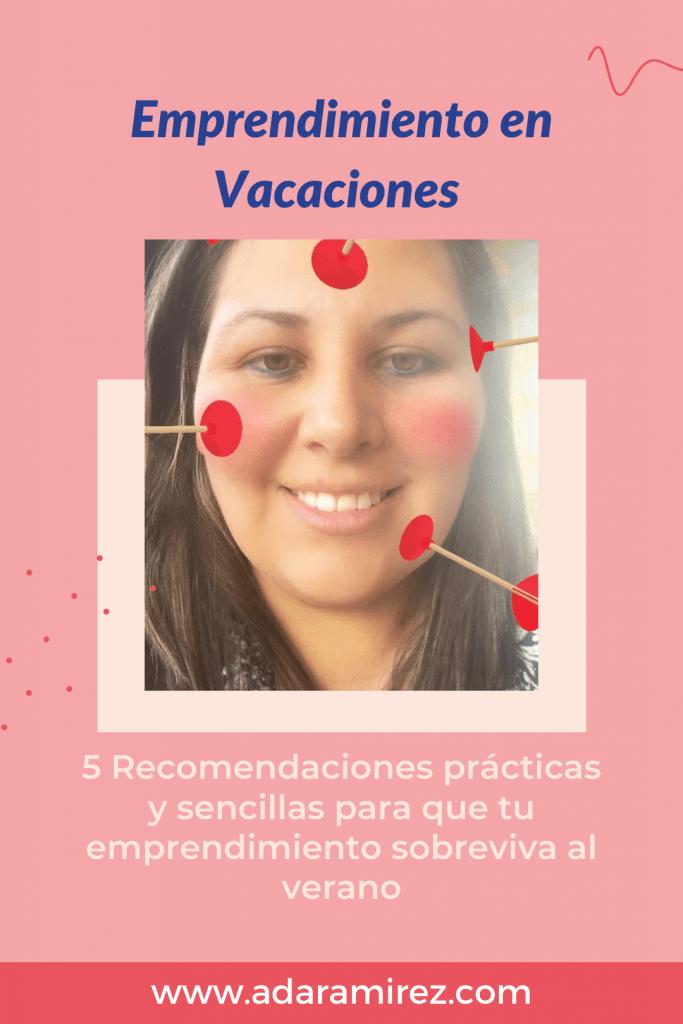 Vacaciones y emprendimiento