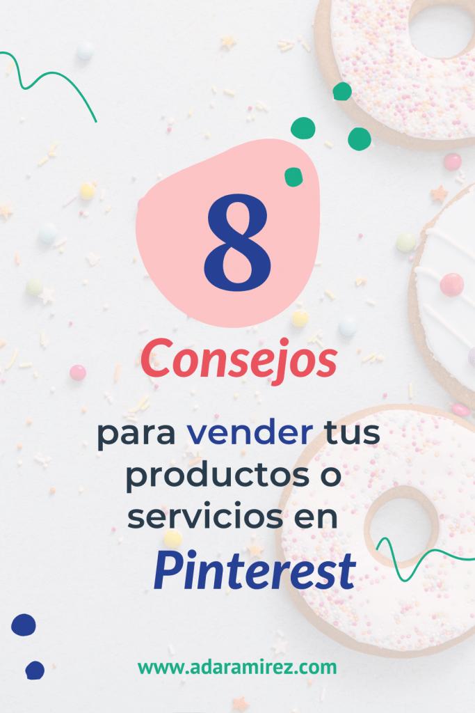 8 consejos para vender en Pinterest