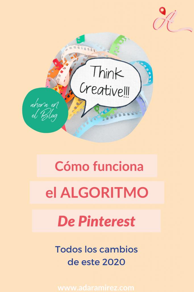 Cambios de Algoritmo de Pinterest