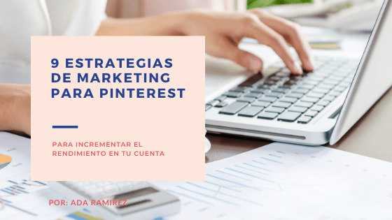 estrategias de marketing en Pinterest