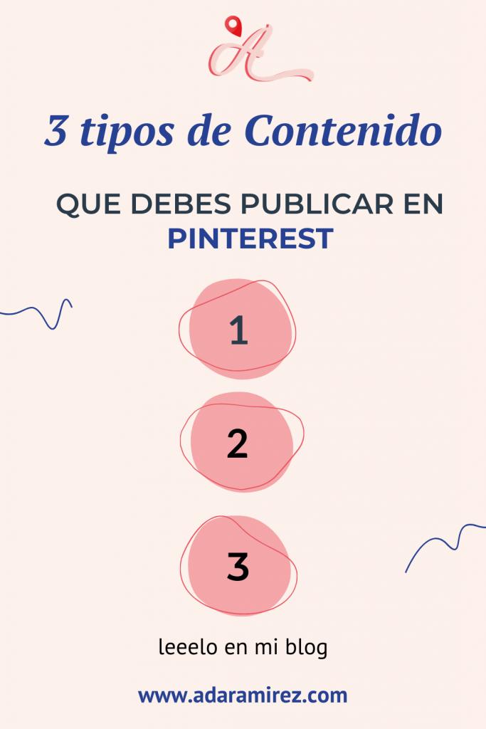ideas de contenido para publicar en pinterest
