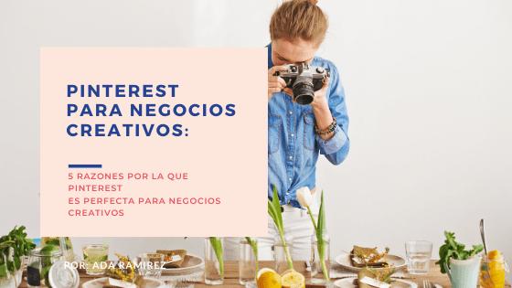 Pinterest para negocios creativos