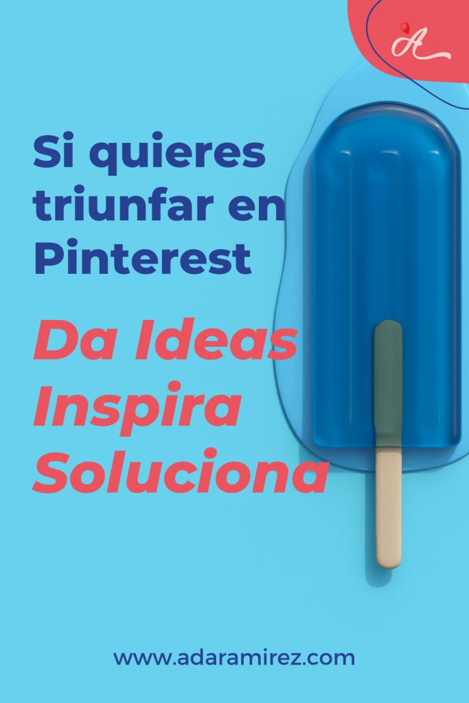 Negocio creativo da ideas inspira y soluciona