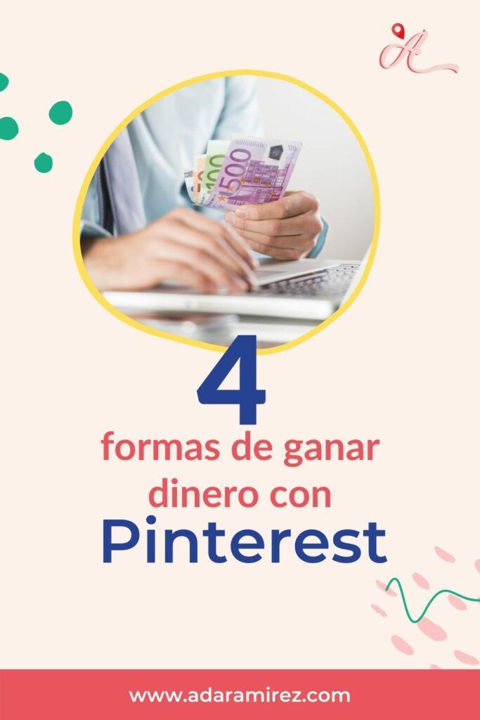 formas de ganar dinero con pinterest