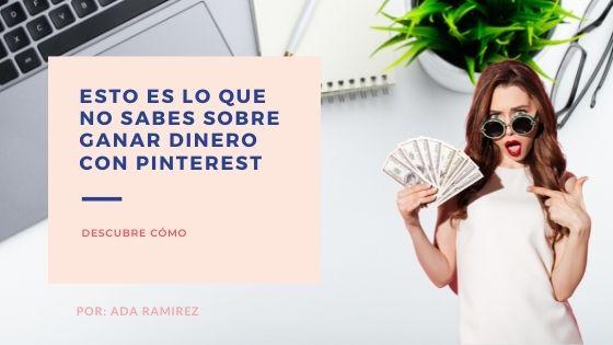 monetizar con Pinterest